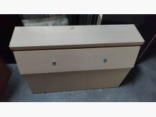 [9成新] 橡木色3.5呎床頭箱床頭櫃無破損有使用痕跡