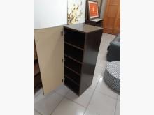 [9成新] 九成新胡桃色木心板置物櫃收納櫃無破損有使用痕跡