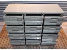 [8成新] 24抽辦公鐵櫃辦公櫥櫃有輕微破損