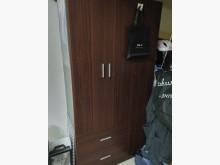 [9成新] 三門衣櫃 兩抽屜衣櫃/衣櫥無破損有使用痕跡