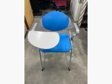 [9成新] 藍色學生課桌椅(可收納)書桌/椅無破損有使用痕跡