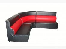 [8成新] B3191*L型KTV皮沙發*L型沙發有輕微破損