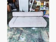 [9成新] 灰色絨布6.3尺沙發床*三人座雙人沙發無破損有使用痕跡