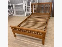 [9成新] 詩肯柚木三尺半單人床架單人床架無破損有使用痕跡