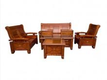 [9成新] ZH40203*樟木沙發組木製沙發無破損有使用痕跡