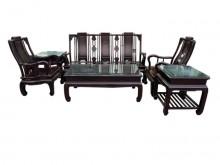 [95成新] ZM40706*雞翅木6件組木製沙發近乎全新