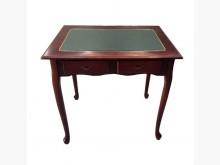 [9成新] A50207*二抽胡桃書桌書桌/椅無破損有使用痕跡