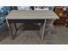 [9成新] 木紋簡約平面書桌書桌/椅無破損有使用痕跡