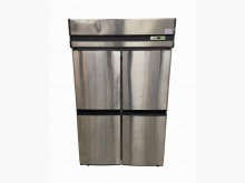 [8成新] RE41202*4門營業用全冷凍冰箱有輕微破損