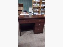 [9成新] 胡桃色平面書桌書桌/椅無破損有使用痕跡