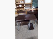 [9成新] 胡桃色簡約電腦桌電腦桌/椅無破損有使用痕跡