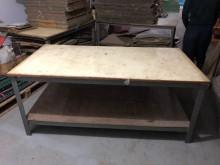 [9成新] 角鋼工作桌其它桌椅無破損有使用痕跡