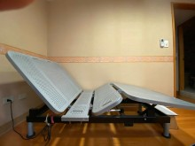 [9成新] 電動牀 可調整摺疊牀單人床架無破損有使用痕跡