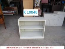 [8成新] K18848 電器櫃 公文櫃辦公櫥櫃有輕微破損