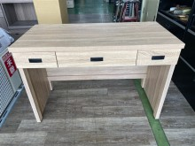 [全新] 吉田二手傢俱❤全新原切色4尺書桌書桌/椅全新