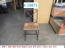[8成新] K18871 書桌椅 餐椅書桌/椅有輕微破損