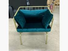 [95成新] 單人沙發/絨布沙發/法式沙發單人沙發近乎全新