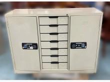 [8成新] 宏品二手C5285*4尺7抽鐵櫃辦公櫥櫃有輕微破損