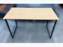 [9成新] 宏品- C6022*木紋色電腦桌電腦桌/椅無破損有使用痕跡