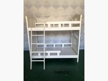 [9成新] 06004110 白色雙層床單人床架無破損有使用痕跡