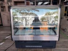 [9成新] 吉田二手傢俱❤瑞興3尺桌上蛋糕櫃冰箱無破損有使用痕跡