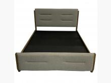 [9成新] B60801*灰布五尺床架雙人床架無破損有使用痕跡
