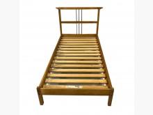 [9成新] 60808*木色簡約三尺床架雙人床架無破損有使用痕跡