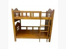 [9成新] B60812*柚木上下床3.5尺雙人床架無破損有使用痕跡