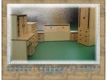 [全新] 全新庫存檜木臥室家具組床頭櫃全新