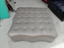 [95成新] 灰色方形輔助沙發椅H03850近乎全新