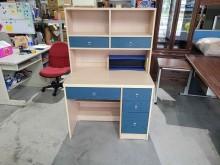 [9成新] 配色上下座書桌H03884書桌/椅無破損有使用痕跡