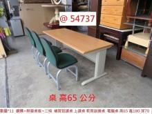 [9成新] @54737 上課桌+三書桌椅書桌/椅無破損有使用痕跡