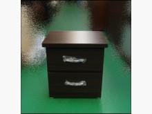 [全新] 全新豪邁胡桃木床邊櫃收納櫃全新