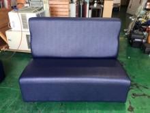 [全新] 全新藍色雙人乳膠皮沙發其它沙發全新