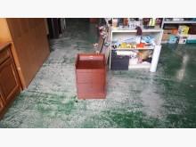 合運二手傢俱~半實木活動床邊櫃床頭櫃有明顯破損