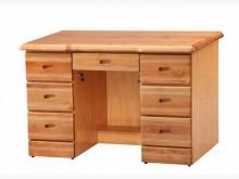 [全新] 全新赤陽木書桌 實木七抽屜辦公桌書桌/椅全新