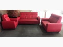 [全新] 全新123寶馬紅貓皮沙發多件沙發組全新