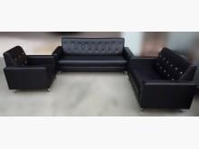 [全新] BN101*黑色透氣皮沙發多件沙發組全新