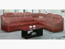 [全新] ZX1228FJA新酒紅L型沙發L型沙發全新