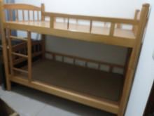 [95成新] 原木上下床單人床架近乎全新