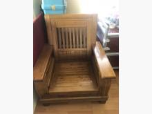 [8成新] 全實樟木客廳組~非常划算其它桌椅有輕微破損