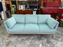 [95成新] KUKA HOME綠色三人座沙發雙人沙發近乎全新