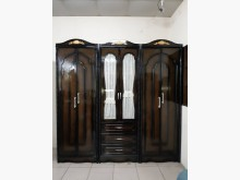 [95成新] 歐式造型實木7尺半直立衣櫃衣櫃/衣櫥近乎全新
