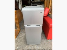 [9成新] 歌林kolin125公升雙門冰箱冰箱無破損有使用痕跡