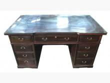 [9成新] ZH122306雞翅木9抽主管桌桌子無破損有使用痕跡