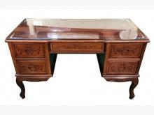 [9成新] RW122309*紅木5抽主管桌桌子無破損有使用痕跡