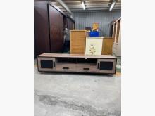 [9成新] 六尺古橡色工業風兩抽電視櫃電視櫃無破損有使用痕跡