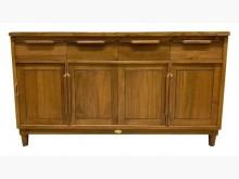 [全新] HM033AJD稻香五尺柚木餐櫃碗盤櫥櫃全新
