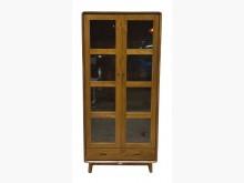 [全新] HM015AJE新柚木玻璃門書櫃書櫃/書架全新