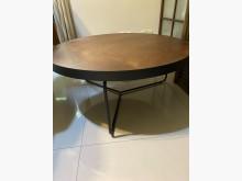 [9成新] 現代質感休閒低圓桌(鐵腳)其它桌椅無破損有使用痕跡